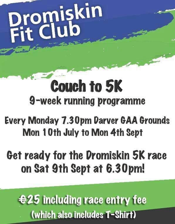 Dromiskin Fit Club Couch to 5K 2017